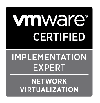 VCIX-NX: VMware Certified Implementation Expert - Network Virtualization Logo