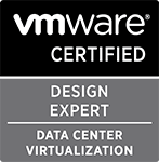 Romain Decker is VCDX-DCV #120 (VMware Certified Design Expert - Data Center Virtualization)