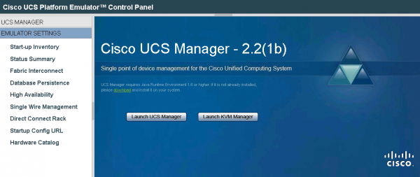 How to test Cisco UCS with UCS Platform Emulator · cloudmaniac net