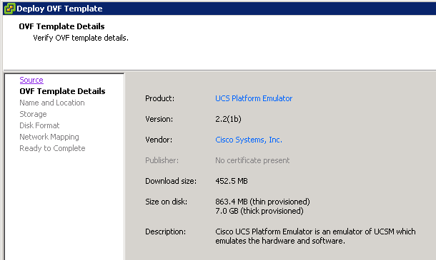 How to test Cisco UCS with UCS Platform Emulator