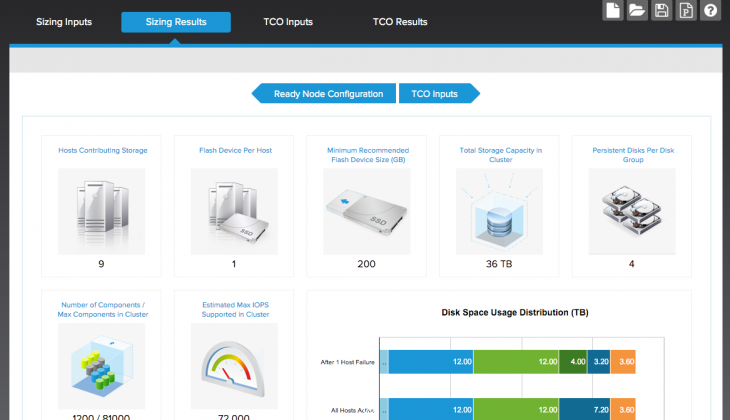 Try the new VMware Virtual SAN Sizing Tool