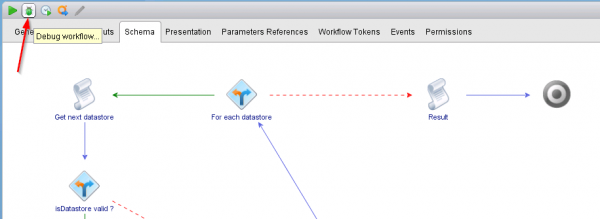 VMware vCenter Orchestrator Debug Workflow
