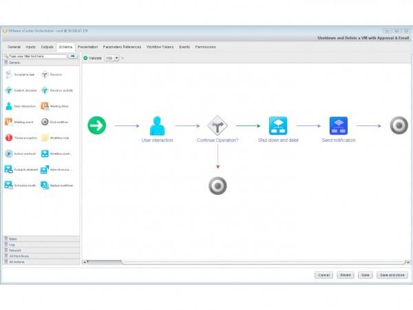 VMware vCenter Orchestrator Workflow