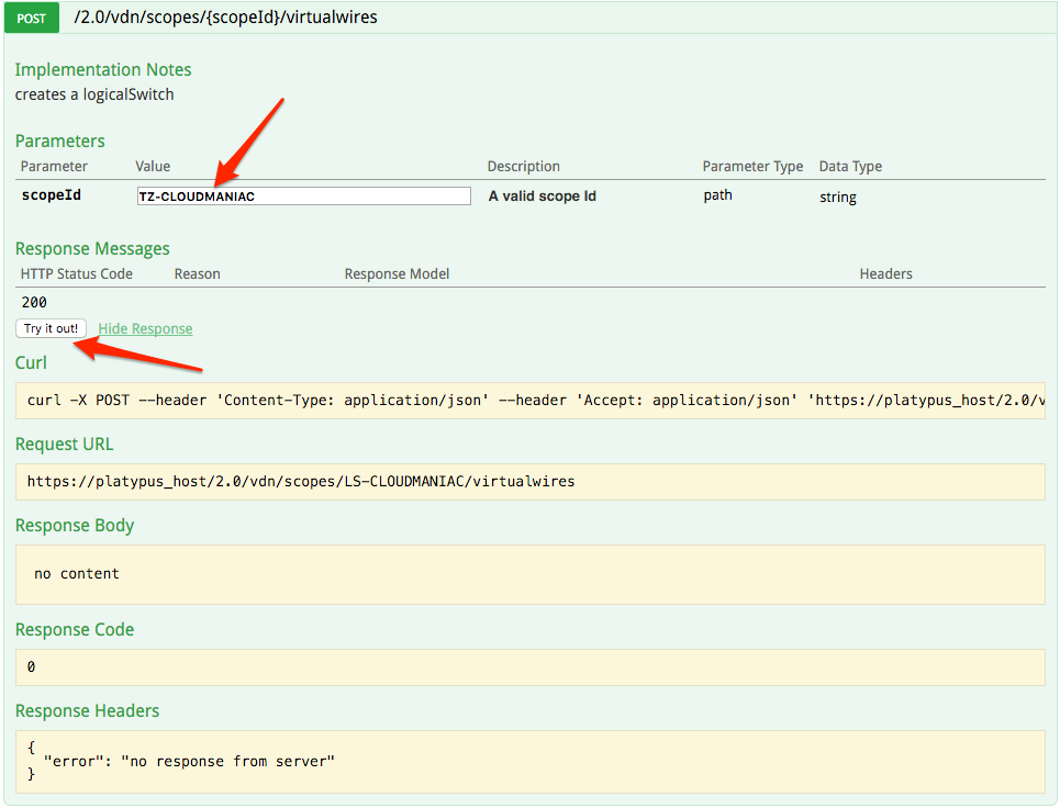 API Documentation for VMware Products with Platypus