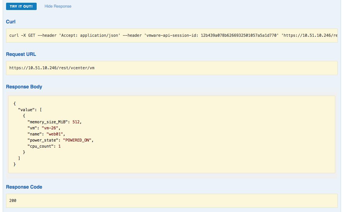 New vSphere 6 5 REST API and API Explorer · cloudmaniac net