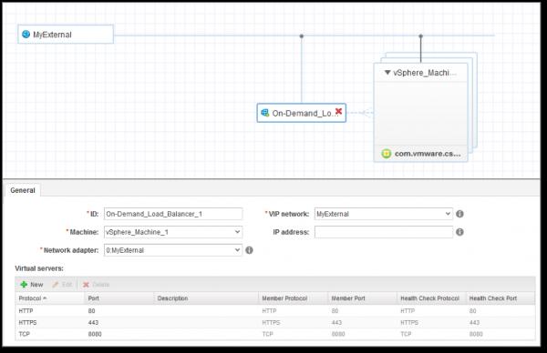 vRA 7.3: enhanced control of NSX-provisioned load balancers