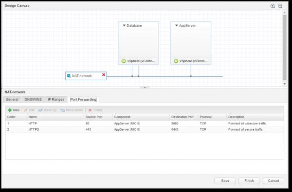 vRA 7.3: configurable on-demand NAT port forwarding rules