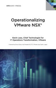 Operationalizing VMware NSX Free Ebook