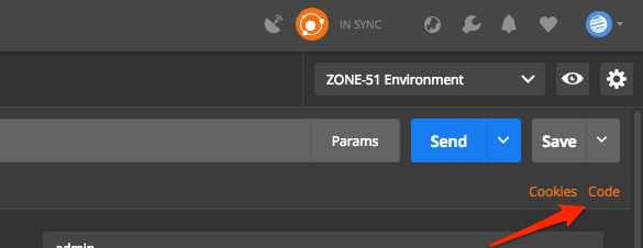 Postman Code Snippets