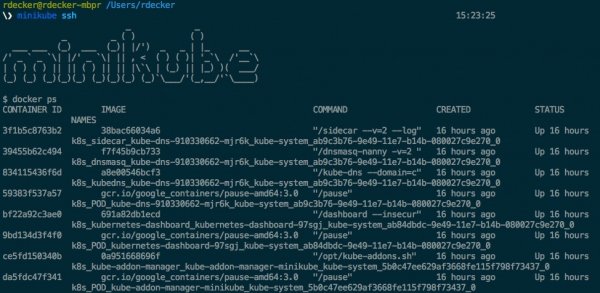 SSH Access to Minikube
