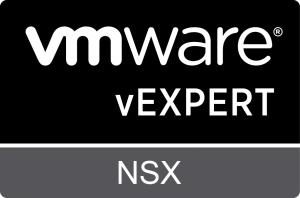 vExpert NSX badge