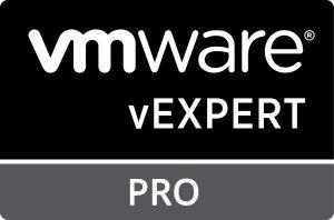 vExpert Pro badge